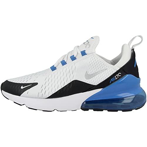 Nike Sneaker Air Max 270 Bianco-Blu, 43 EU