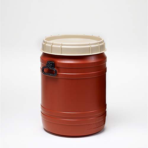 Superweithalsfass 64l - Inhalt 64 Liter - Fass Kunststofffass Rundfass Standfass Weithalstonne Tonne