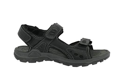TOM TAILOR 6989101 He-Schuhe Sandalen Bequemsandalen, BLACKBLACK, 44