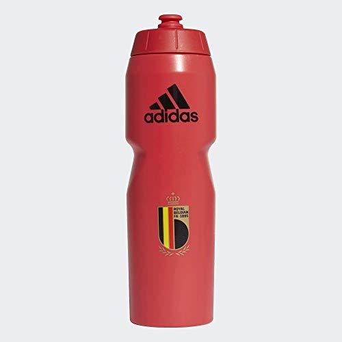 adidas RBFA Bottle Botella, Unisex Adulto, rojuni/Negro, Talla Única
