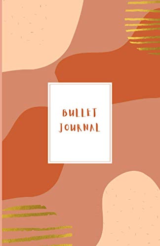 Bullet journal: Bujo | Carnet 100 pages blanches | Agenda, planificateur, organisateur pour une nouvelle année 2021