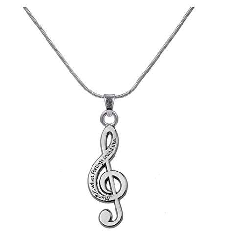 lemegeton Gravur Note Anhänger verstellbare Halskette für Mädchen Frauen Geschenke Schmuck