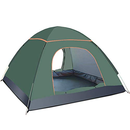 COOLLL Utility Tent, Up Camping Tents, Compact Dome Tent, Also Ideal for Camping in The Garden, Lightweight Camping And Hiking Tent, 100 Percent Waterproof HH 3000 Mm,Natural