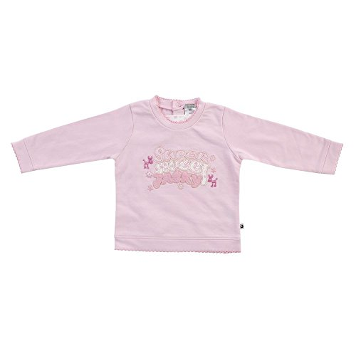 Jacky Baby Sweat-shirt Princess Polly Fille Manches Longues Rose (80)