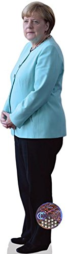 Celebrity Cutouts Angela Merkel Pappaufsteller Mini
