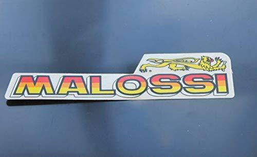 Stickers belettering Malossi M, 130x30 mm, 1 stuk