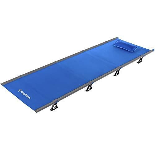 KingCamp Ultraleicht Feldbett Aluminium Campingbett Klappbar bis 120 kg belastbar