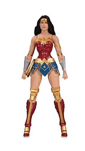 Personajes DC con atractivo universal, accesibles tanto para coleccionistas de larga duración. La figura está en escala 1: 10. Detalles auténticos. Wonder Woman tiene 6. 20,3 cm de alto. Edición limitada.