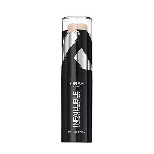 L Oréal Paris Infaillible Fondotinta Coprente in Stick per un Risultato a Lunga Tenuta, 140 Naturel Rosé