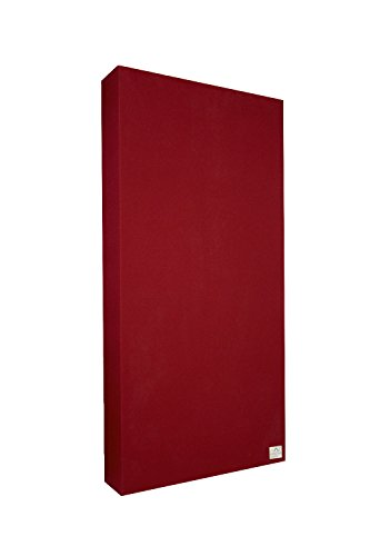 Schallabsorber Standard 100x50x11 cm by Addictive Sound – Raumakustik Akustikbild – Viele Farben - Tiefrot