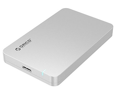 ORICO 2569S3 sin herramientas USB 3,0 SATA 3,0 Chipset 6,35 cm SATA HDD y SSD externo y caja de plata: Amazon.es: Informática