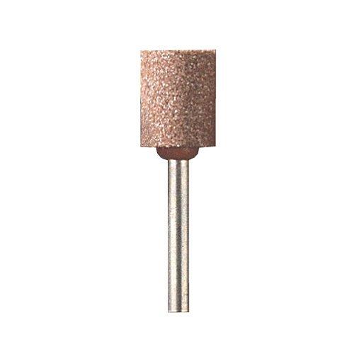 Dremel 932 Aluminiumoxid Schleifstein, Zubehörsatz für Multifunktionswerkzeug mit 3 Schleifhülsen zum Schleifen, Schärfen und Glätten von Metall, Messing, Stahl, Edelstahl, Gold, Silber, Kupfer