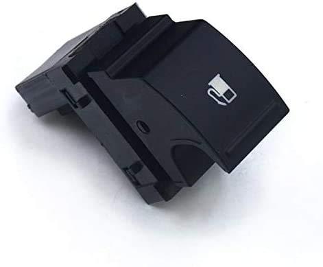 Botón de interruptor de liberación de la puerta del tanque de combustible cromado/ajuste para VW Fit para Golf/Fit para Jetta MK5/Fit para conejo/Fit para Touran (sin cromo)