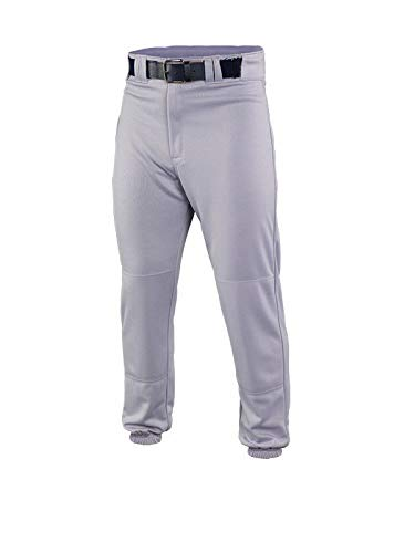 EASTON DELUXE Baseball Pant, Youth, Medium, Grey