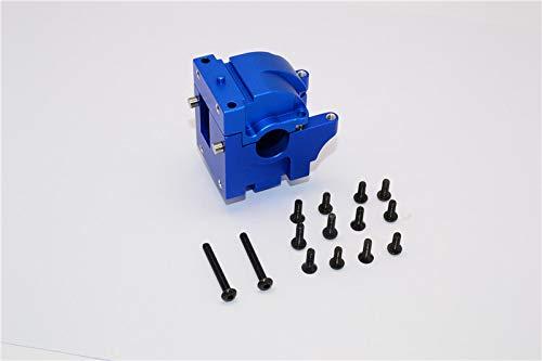 HPI Bullet Nitro 3.0 Upgrade Pièces Aluminium Front/Rear Gear Box - 1 Set Blue