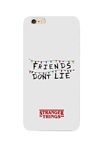 Social Crazy Cover iPhone 11 11 PRO XS- XR - XS Max-8-8 Plus - X - 6-6 Plus -6S - 6S Plus -7-7 Plus - Friends Don't Lie Trasparente AntiGraffio Antiurto Case Custodia