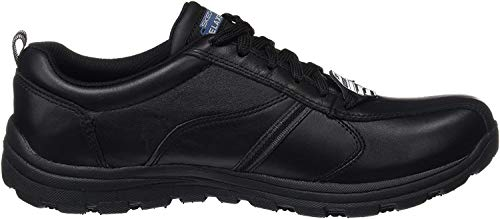 Skechers Men's Hobbes-Frat Safety Shoes, Black (Blk), 7 UK 41 EU
