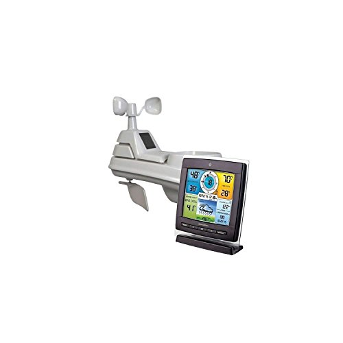 AcuRite Pro 5-in-1 Color Weather Station 01528 / 01533 with Wireless Sensor Temperature, Humidity, Wind & Rain