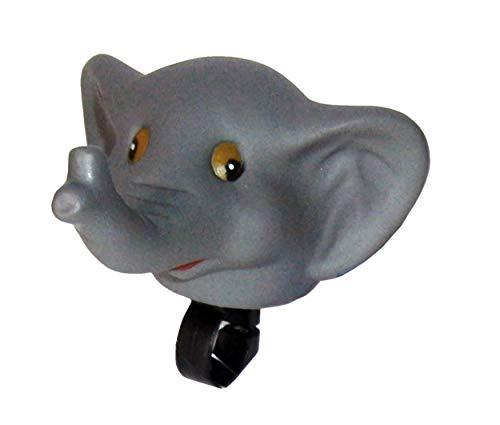 Anik-Shop FAHRRADHUPE fur Kinder Tier Fahrradklingel Fahrrad Trote Klingel Glocke Hupe 46 (Elefant)