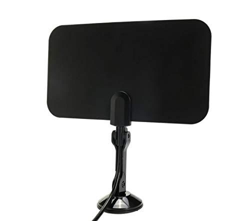 Digitale TV-Antenne für den Innenbereich, 1,5 m, flach, hochauflösend, für HDTV, VHF, UHF, TVFox, TVScout