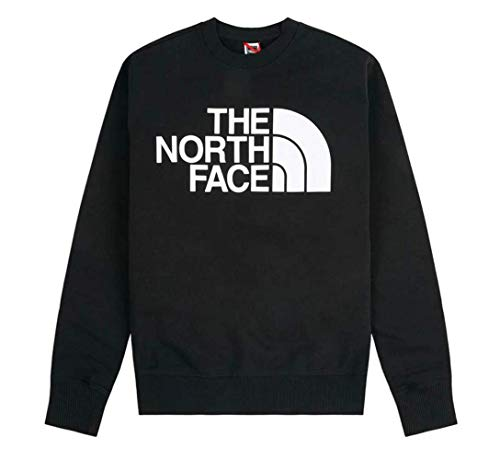 THE NORTH FACE Herren Men's Standard Crew Pullover, Black, S Regulär