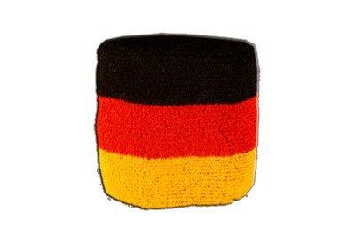 Flaggenfritze® Schweissband Flagge Deutschland, 2er Set