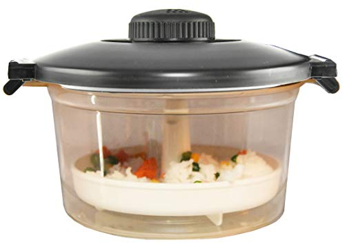 HOME-X Microwave Pressure Cooker With Steamer