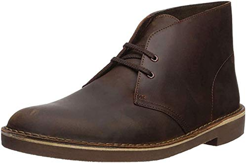 Clarks Men's Bushacre 2, Dark Brown, 12 M US