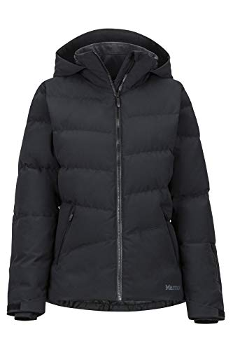 Marmot Wm s Slingshot Jacket Chaqueta De Plumas para La Nieve, 700 Pulgadas Cúbicas, Ropa De Esquí Y Snowboard, Resistente Al Viento, Resistente Al Agua, Transpirable, Mujer, Black, XL