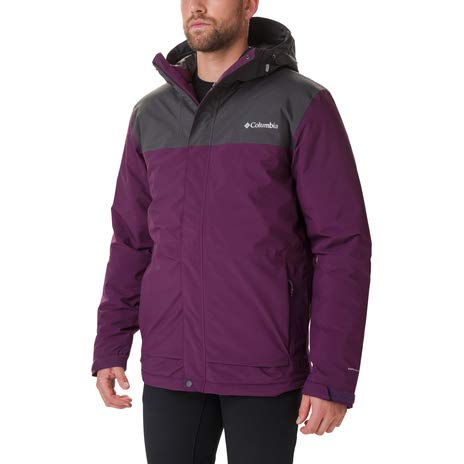 Columbia Horizon Explorer Chaqueta Aislante, Hombre, Azul (Night Tide), M