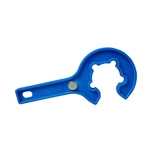 IOE Gasregler-Schlüssel mit Magnet Gasflaschenschlüssel für Propangas-Flasche 5kg 11kg Druckminderer