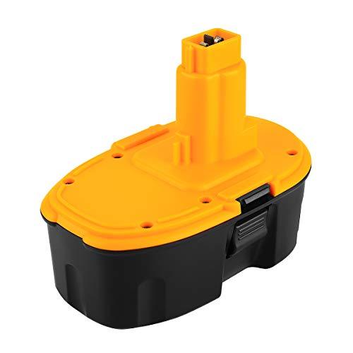 POWER-XWT 18V 3,0Ah Ni-MH Batteria per Dewalt DE9098 DE9095 DE9094 DE9039 DW9096 DW9095 DW9098 DE9503 DC9096 Batteria Dewalt 18V