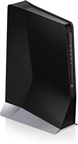 Netgear EAX80 Repetidor WiFi Mesh AX6000, amplificador WiFi 6 con 8 Flujos de datos, 4 puertos LAN Gigabit, compatibilidad universal