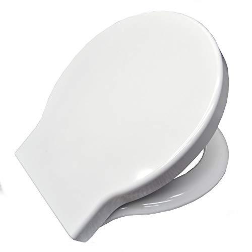 SS019BI Sedile originale per wc STONE 54.36 Ceramica Globo in termoindurente avvolgente