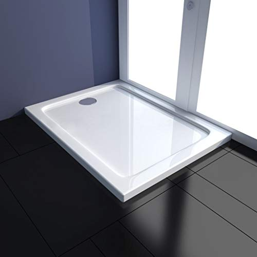 Sanitair onderdelen en gereedschap voor sanitaire componenten douchebak rechthoekig ABS 70 x 90 cm