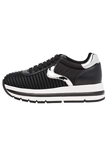 VOILE BLANCHE Aprilia Easy - Zapatillas de tejido funcional - Negro/Plata, color Negro, talla 36 EU