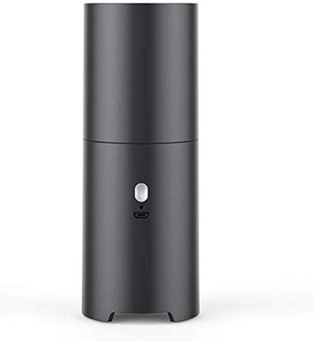 JUJ® Wireless Handstaubsauger Tragbares Auto Desktop Papierstaubreiniger Geeignet für Home Car Pet Office Schwarz-Schwarz