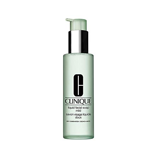 Clinique 3-Phasen-Systempflege femme/woman, Liquid Facial Soap Mild, 1er Pack (1 x 200 ml)