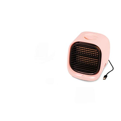 CRYPY Mini Aire Acondicionado portátil casa humidificador de Aire Acondicionado purificador USB Ventilador de Enfriador de Aire de Escritorio para Sala de Oficina