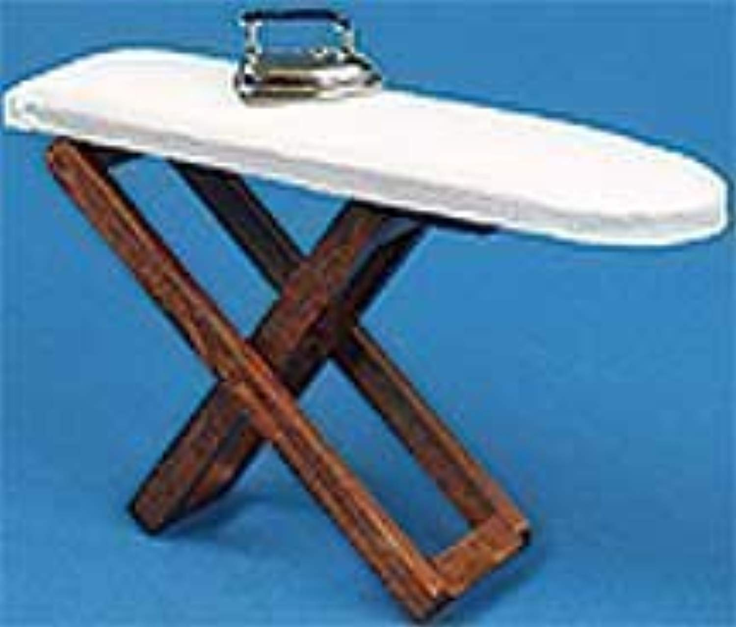 bambolas House Laundry Accessory Ironing tavola & Iron 304 by Town Square Miniatures