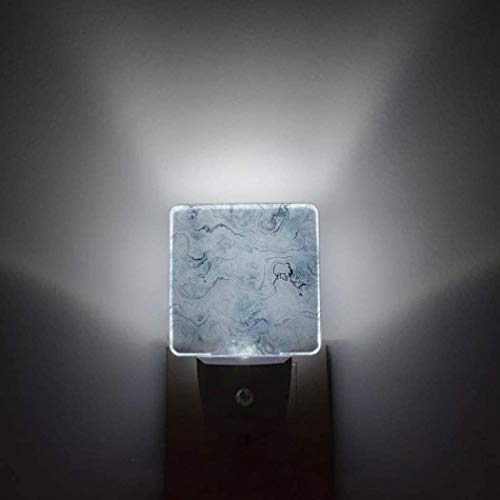 Sensor automático de textura azul claro,paquete de 2 luces nocturnas que se conectan a la pared,estante rústico para vino,tiene una botella de vino y un dormitorio de vidrio,decoración brillante,luce
