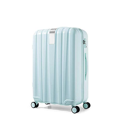 SFBBBO luggage suitcase Best Spinner Luggage Suitcase Trolley Case Travel Bag Rolling Wheel Carry-On Boarding Men Women Luggage Trip Journey 29' Mint