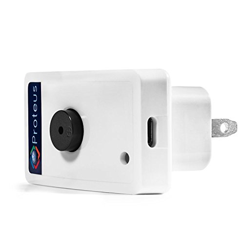 Wi-Fi Water Level/Sump Monitor Sensor with Buzzer, email/Text Alerts - Proteus AQUO