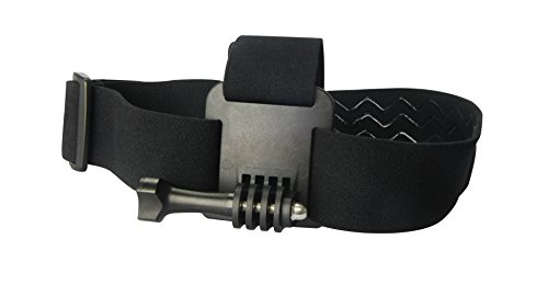 AEE Technology BS10 Headstrap Mount for Use with AEE S-Series & MD10 Action Cameras (Black)