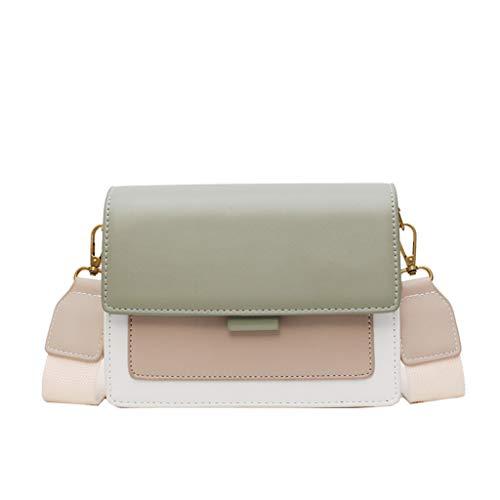 Sllowwa Damen Umhängetasche Kleine Schultertasche Kette Tasche Clutch Allzweck Small Square Bag Single Schulter Messenger Bags