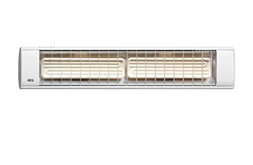 EHT Haustechn.AEG Dunkelstrahler IR Keramik 1300 W 2x650W Heizstrahler 4041056032160