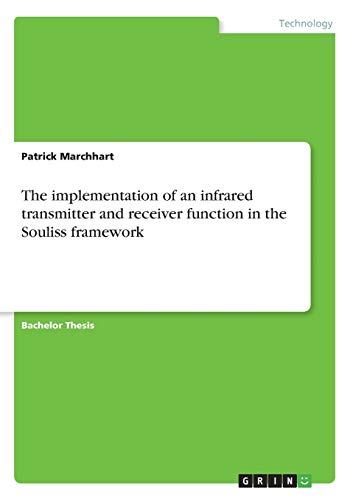 The implementation of an infrared transmitter and receiver function in the Souliss framework