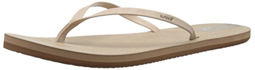 Reef Downtown, Tongs Femme, Beige (Cream), 37.5 EU