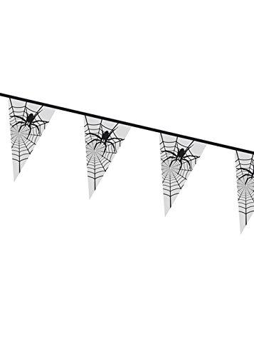 Halloween Gothique Spider Web Bunting