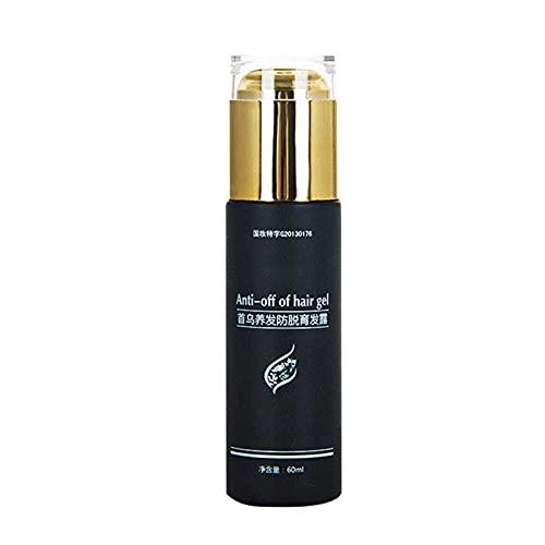 Shanji - Gel multiflorum nutriente per capelli, anti-caduta, nutriente, per uomini e donne